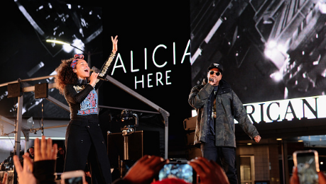 Concert Review: Alicia Keys' Launches 'Here' With NYC Show