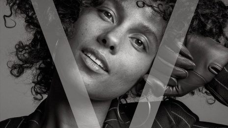 Alicia Keys Covers V Magazine Make-Up-Free
