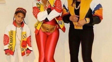 Beyonce, Blue Ivy, & Tina Knowles Win Halloween As Salt N Pepa