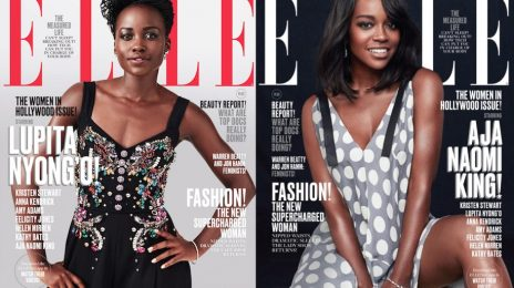 Lupita Nyong'o & Aja Naomi King Cover ELLE 'Women In Hollywood' Issue