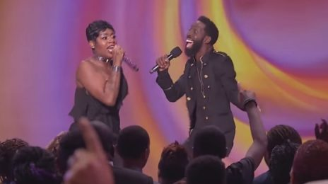 Watch: Fantasia & Tye Tribbett Amaze With 'I Made It' On 'Joyful Noise'
