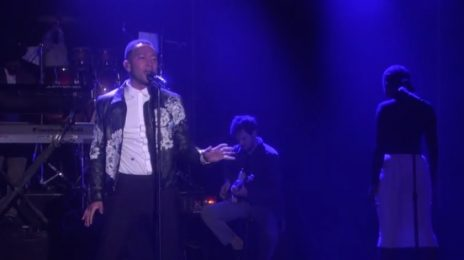 Watch: John Legend Performs 'Love Me Now' On 'Ellen'