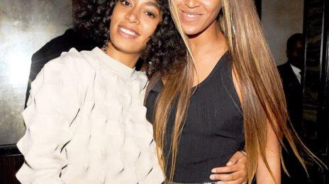 Girl Power!  Solange & Beyonce Make Billboard History