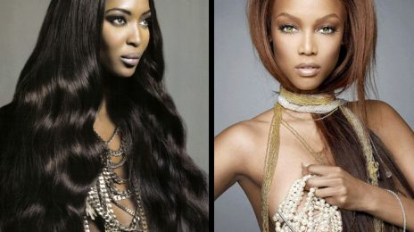 "Tyra Banks On Naomi Campbell: ""I'm Still Very Scared Of Her"""