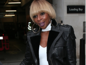 Hot Shots: Mary J. Blige Steps Out In London Town