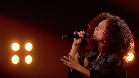 Watch: Alicia Keys Belts 'Blended Family' On 'The X Factor'