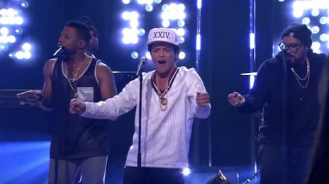 Watch: Bruno Mars Rocks Skavlan With '24k Magic'