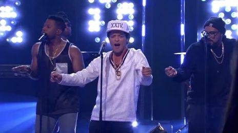 Watch: Bruno Mars Rocks Skavlan With '24k Magic'