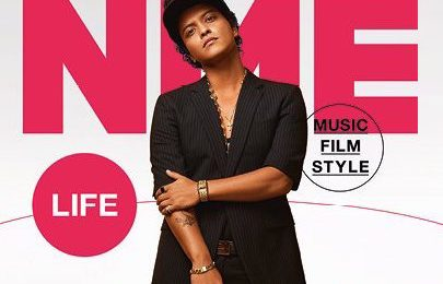 Bruno Mars Covers NME