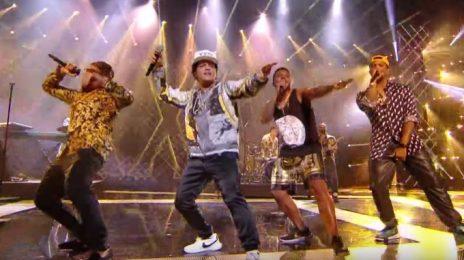 Watch: Bruno Mars Blazes NRJ Awards With '24k Magic'