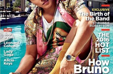 Bruno Mars Covers Rolling Stone