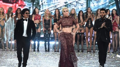 Lady Gaga, Bruno Mars, & The Weeknd Wow At Victoria's Secret Fashion Show