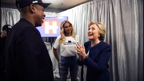 Live Stream: Jay Z, Beyonce, & More Rock the House For Hillary Clinton Campaign