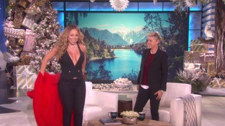 Mariah Carey Visits 'Ellen' / Talks Break-Up With James Packer & E! Docu-Series