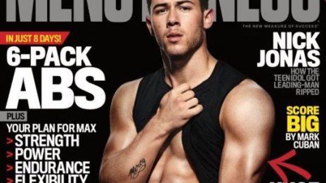 Nick Jonas Turns Up The Heat On Men's Fitness Cover