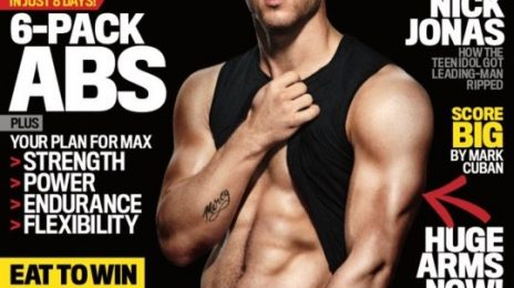 Behind the Scenes:  Nick Jonas' Sizzling Shoot For 'Men's Fitness'