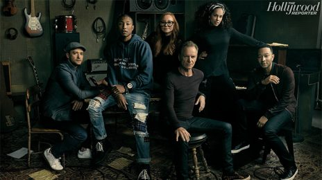 Alicia Keys, Tori Amos, Sting, John Legend, Pharrell Williams & Justin Timberlake Join 'The Hollywood Reporter's Roundtable