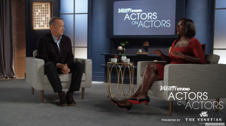 Watch: Tom Hanks Interviews Viola Davis For 'Actors on Actors'