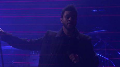 Watch: The Weeknd Performs 'Starboy' On 'Ellen'