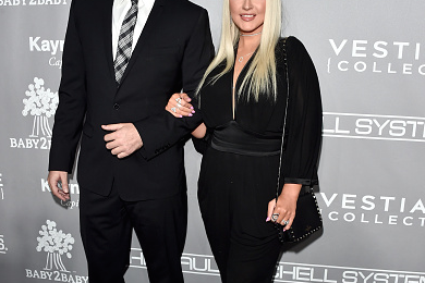 Hot Shots: Christina Aguilera Shines At Baby2Baby Gala