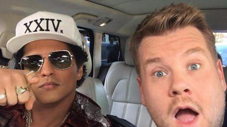 Watch:  Bruno Mars Rocks 'Carpool Karaoke' [Full]