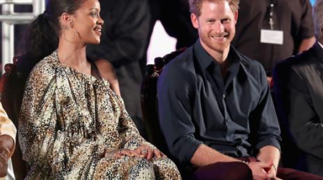 Rihanna Welcomes Prince Harry To Barbados