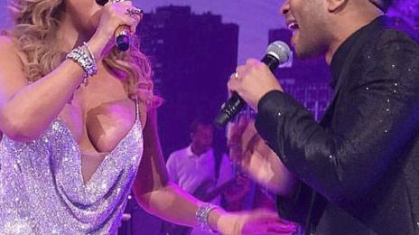Watch: Mariah Carey & John Legend Perform 'When Christmas Comes' Live