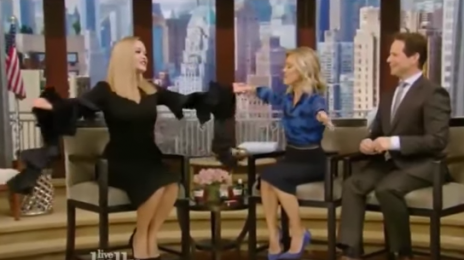 Watch: Rita Ora Opens Up On 'Top Model' Gig On 'Live With Kelly'