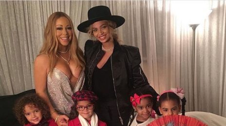 Hot Shot: Mariah Carey & Beyonce Pose With Their Children