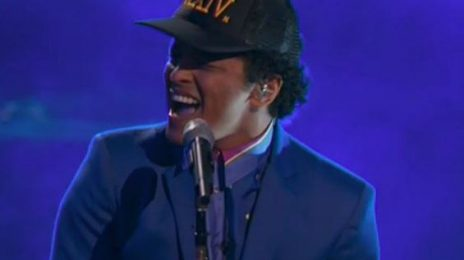#ICYMI:  Bruno Mars Lights Up 'The Voice' With '24K Magic'
