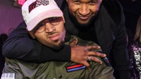 Chris Brown Flaunts New Motorcycle Usher Bought Him For Christmas