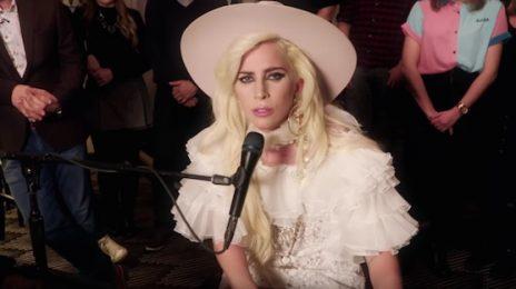 Watch: Lady Gaga Belts 'Million Reasons' On 'Alan Carr'