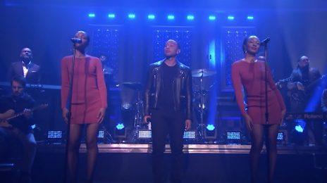 Watch: John Legend Performs 'Penthouse Floor' On 'Fallon'