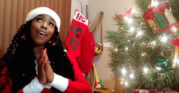 New Video: Khia - \'Santa Baby\' - That Grape Juice