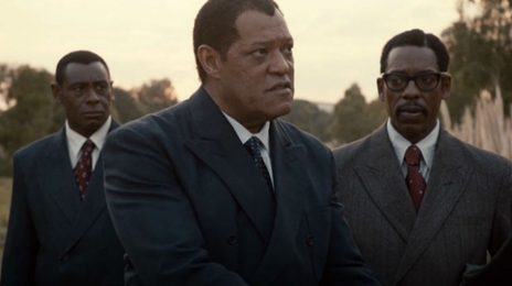 First Look: Lawrence Fishburne As Nelson Mandela