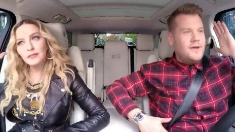 Watch: Madonna Saddles Up For 'Carpool Karaoke' [Full]