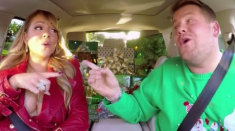 Mariah Carey Returns To 'Carpool Karaoke'; Leads Adele, Gaga & More In Sing-A-Long