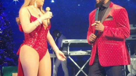 Watch: Mariah Carey & R. Kelly Perform 'The Christmas Song'