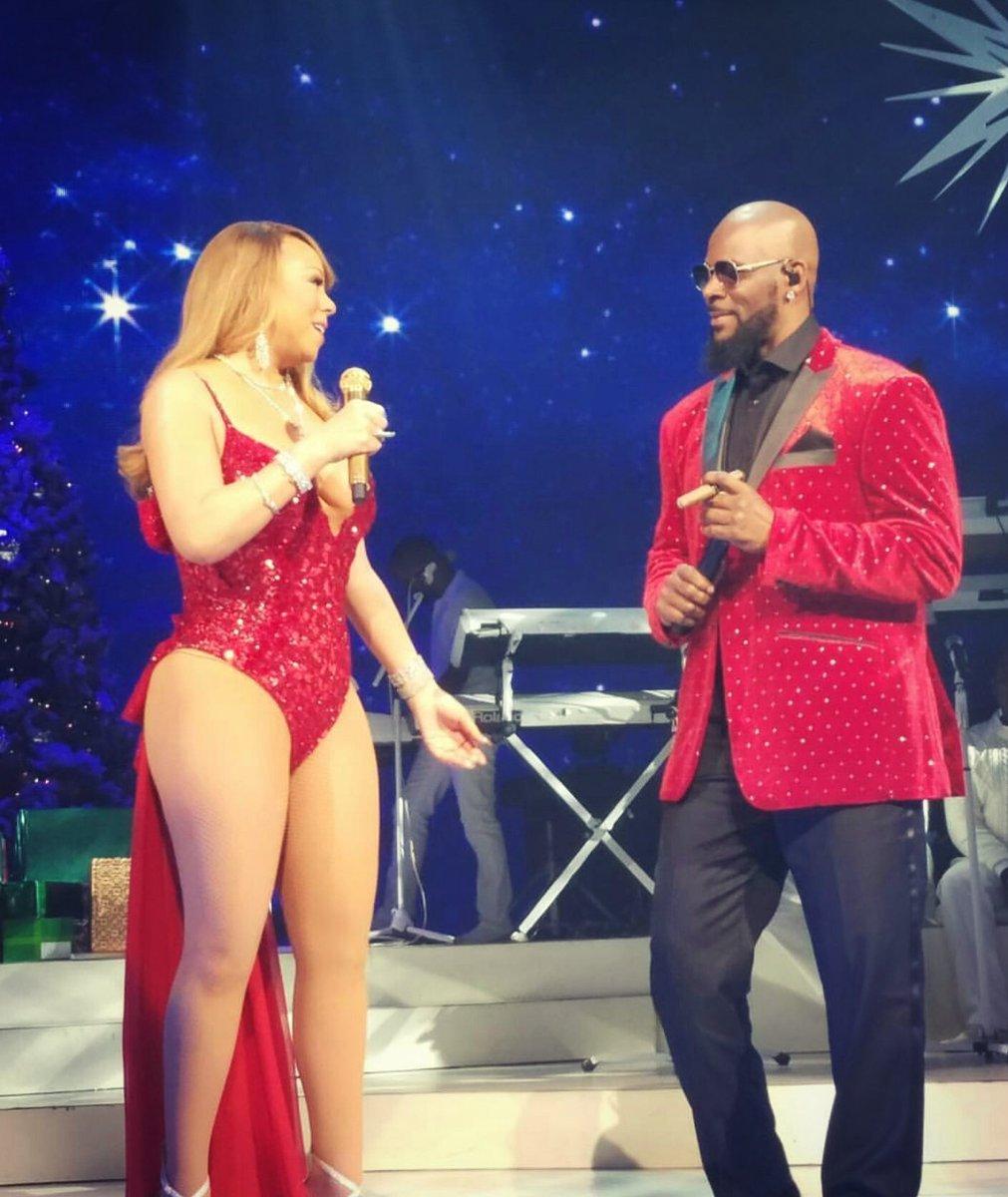 Mariah Carey Christmas Song.Watch Mariah Carey R Kelly Perform The Christmas Song