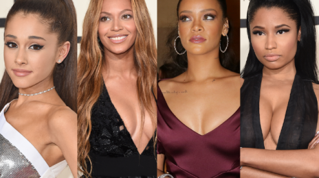 "Beyonce, Rihanna, & Ariana Grande Among Instagram's ""Most-Mentioned"" In 2016"