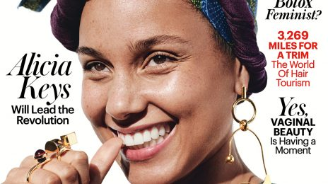 Hot Shots:  Alicia Keys Ditches 'Makeup Free Movement' For 'Allure' Magazine