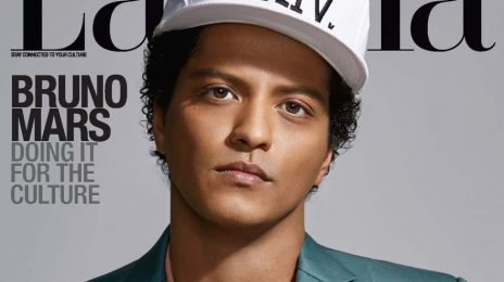 Bruno Mars Covers 'Latina'/ Talks Heritage & Making Black Music