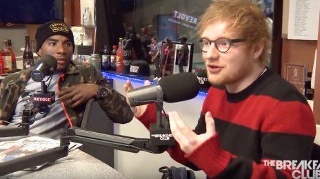 Did You Miss It? Ed Sheeran Visits 'The Breakfast Club'