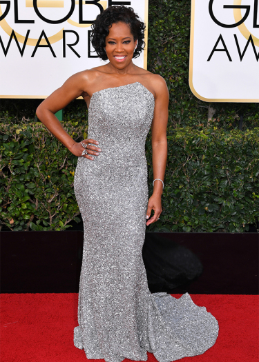 Mandatory Credit: Photo by REX/Shutterstock (7734773cx) Regina King 74th Annual Golden Globe Awards, Arrivals, Los Angeles, USA - 08 Jan 2017