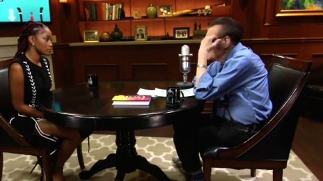 KeKe Palmer Visits Larry King / Reveals She Plans To Sue Over Trey Songz Video