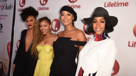 Hot Shots: Kelly Rowland, Keri Hilson, & Meagan Good Marvel At 'Love By The 10th Date' LA Screening
