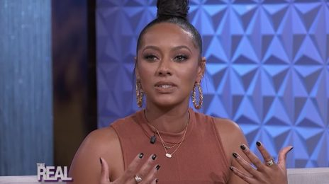 Keri Hilson Visits 'The Real' / Updates On New Album 'L.I.A.R'