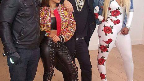 Hot Shots: Keyshia Cole Shoots 'You' Video With Remy Ma & French Montana