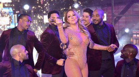 Triumphant:  Mariah Carey Enjoys Huge Streaming Spike After Shambolic 'NYE' Performance