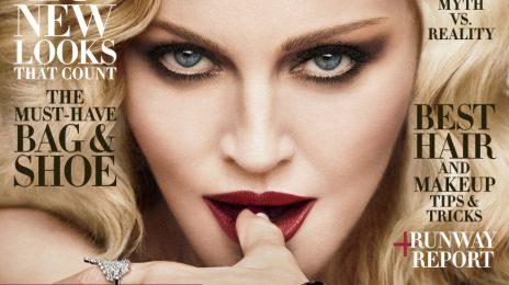 Madonna Covers Harper's Bazaar / Blasts Ageism